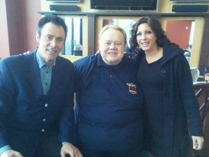 Louie Anderson and Lance and I